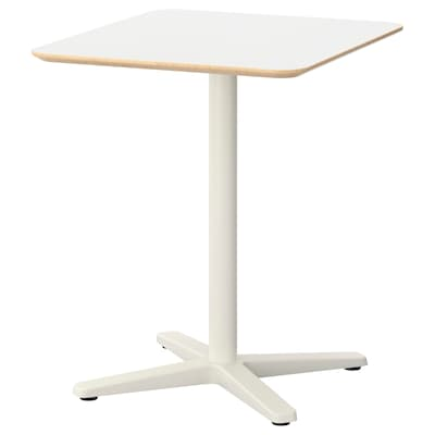BILLSTA Table, white/white, 70x60 cm