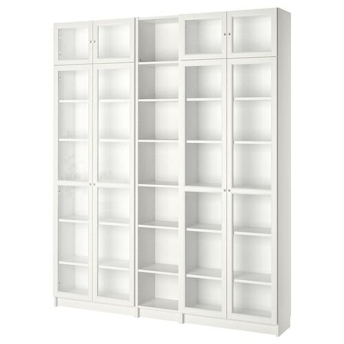 BILLY / OXBERG bookcase white 200 cm 30 cm 237 cm 30 kg