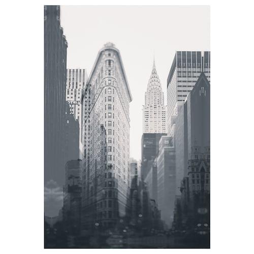 BJÖRKSTA picture New York City 78 cm 118 cm