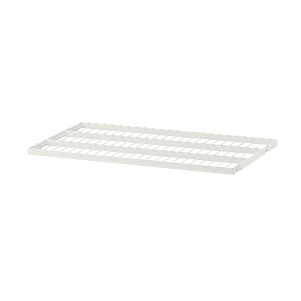 BOAXEL Wire shelf, white, 60x40 cm
