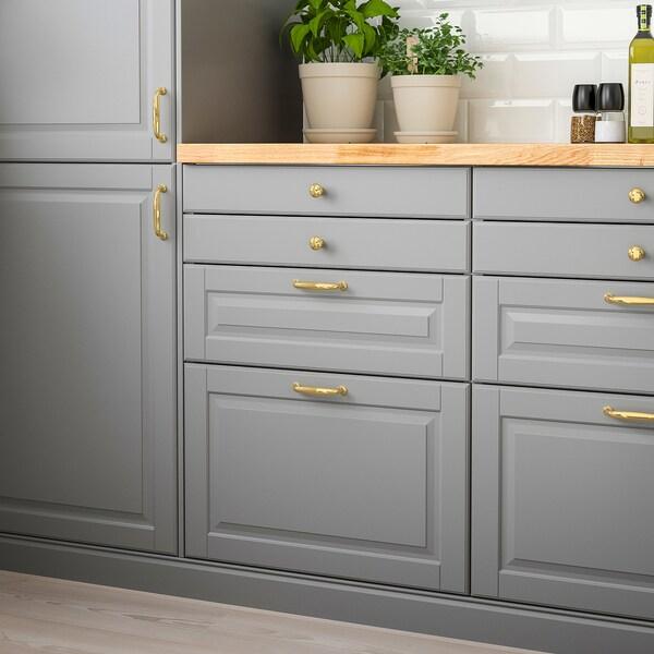 BODBYN Drawer front, grey, 40x20 cm