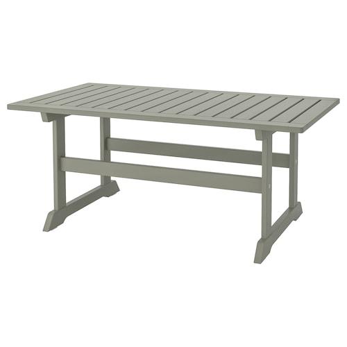BONDHOLMEN coffee table, outdoor grey stained 111 cm 60 cm 47 cm