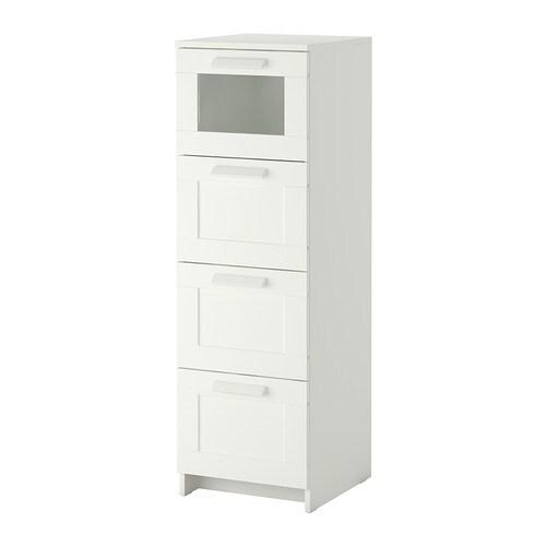 Brimnes chest of 4 drawers ikea for Schrank 60 hoch