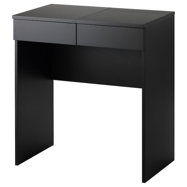 BRIMNES Dressing table, black, 70x42 cm