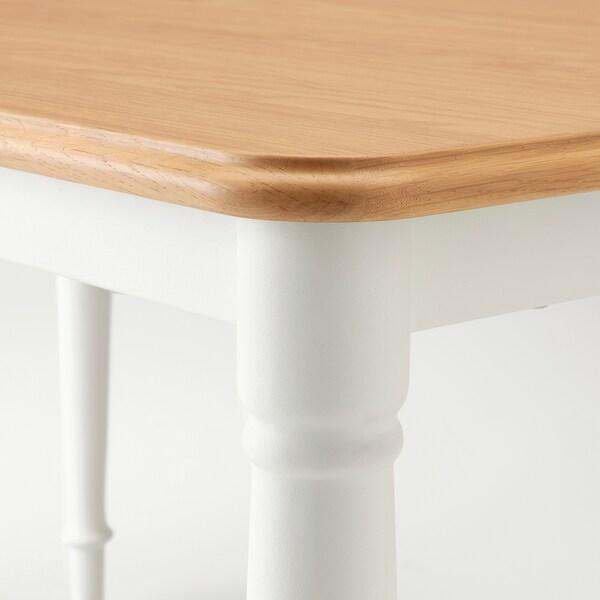 DANDERYD Dining table, white, 130x80 cm