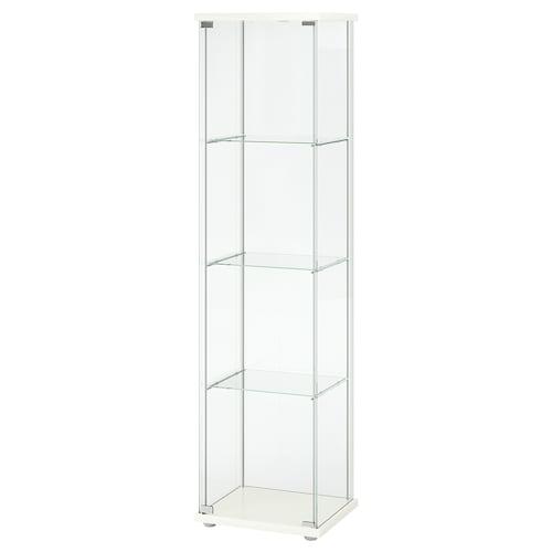DETOLF glass-door cabinet white 43 cm 37 cm 163 cm 3.50 kg