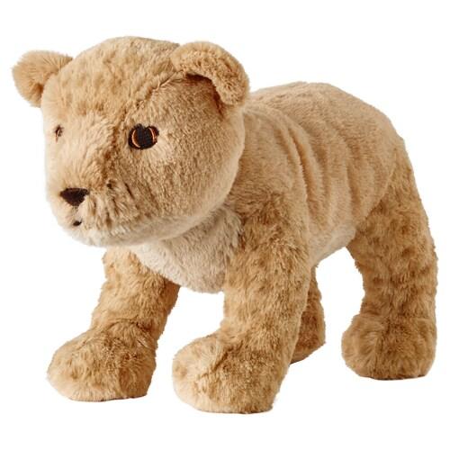 DJUNGELSKOG soft toy lion cub 27 cm