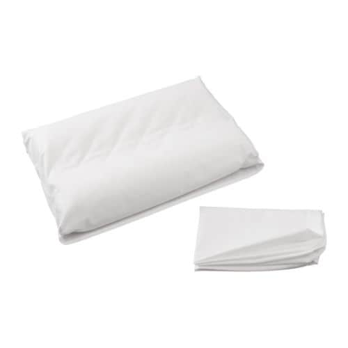 DVALA Pillowcase for memory foam pillow   Cotton, feels soft and nice against your skin.