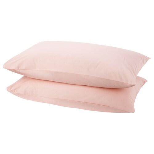 DVALA pillowcase light pink 152 /inch² 1 pieces 50 cm 80 cm 2 pieces