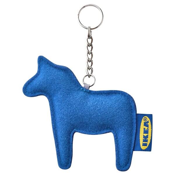 EFTERTRÄDA Key ring, blue