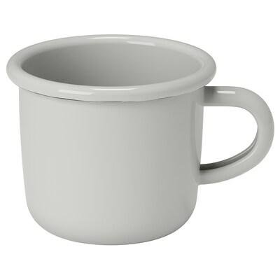 EGENDOM Mug, light grey, 36 cl