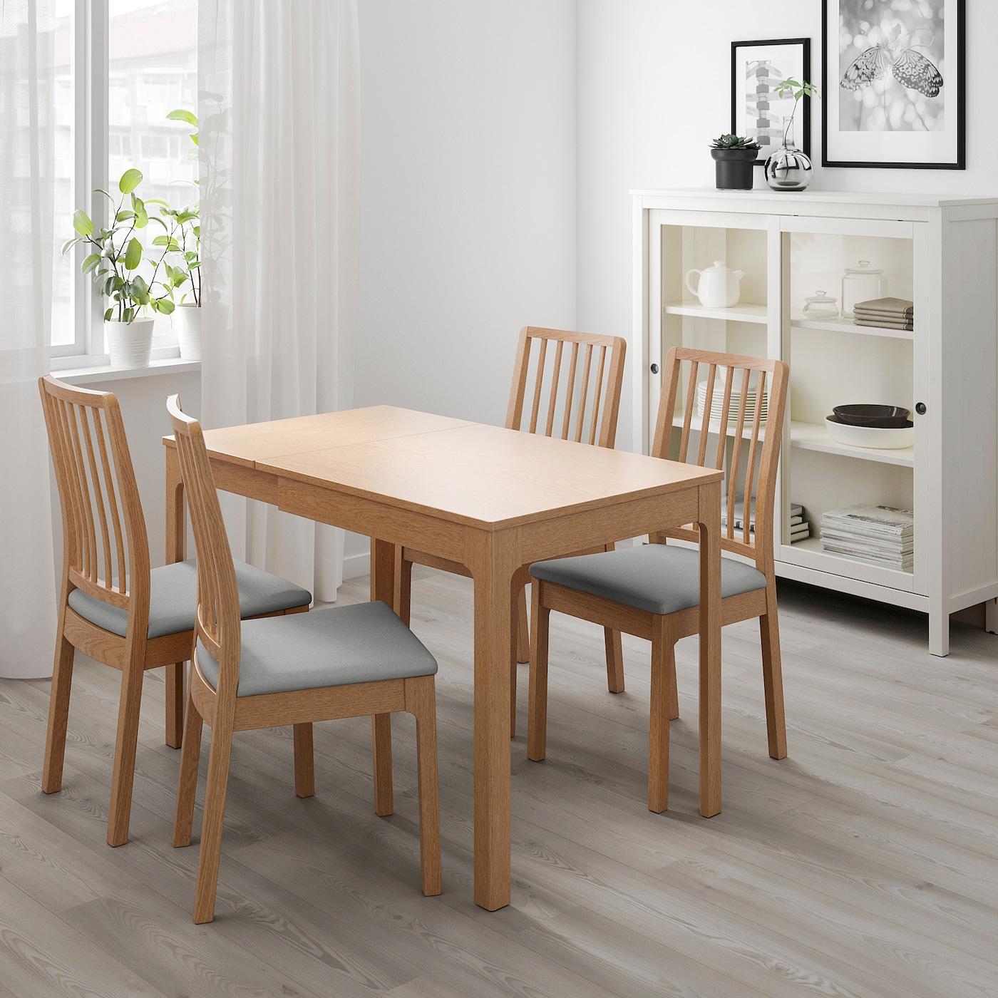 Ekedalen Extendable Table Oak Ikea