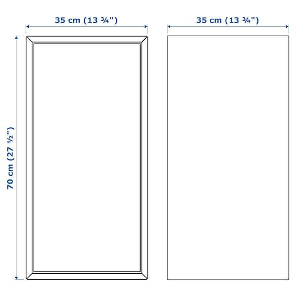 EKET Cabinet w door and 1 shelf, white, 35x35x70 cm