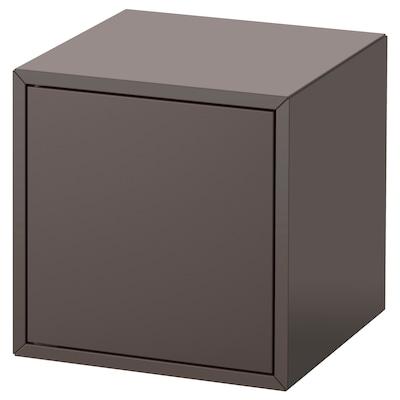 EKET Cabinet with door, dark grey, 35x35x35 cm