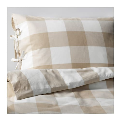 EMMIE RUTA Quilt cover and 2 pillowcases