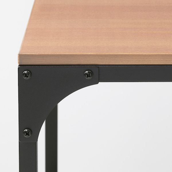 FJÄLLBO Coffee table, black, 90x46 cm