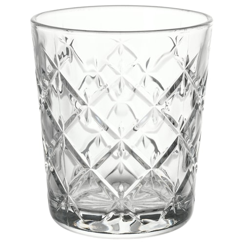 FLIMRA glass clear glass/patterned 9.9 cm 28 cl