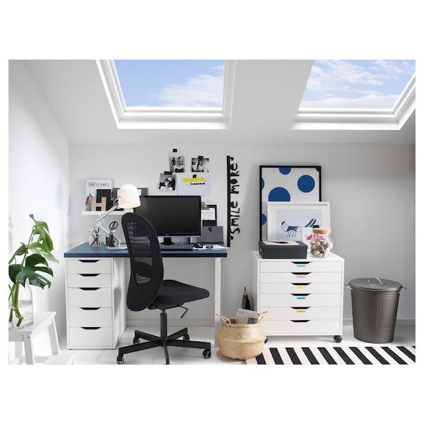 FLINTAN Office chair, Vissle black