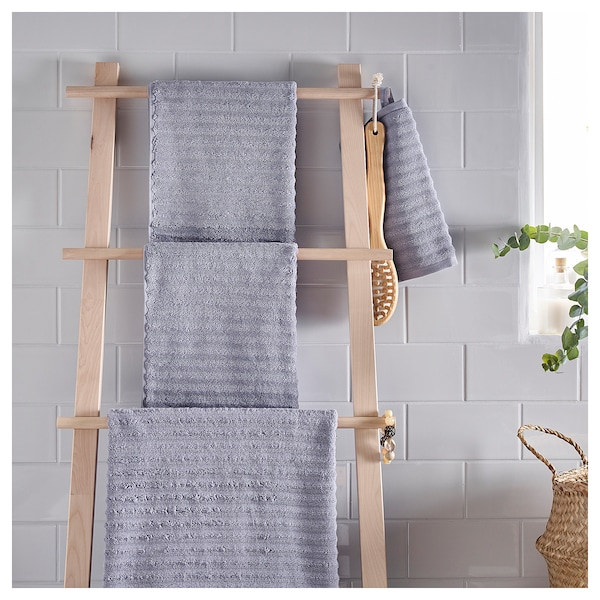 FLODALEN Washcloth, lilac, 30x30 cm