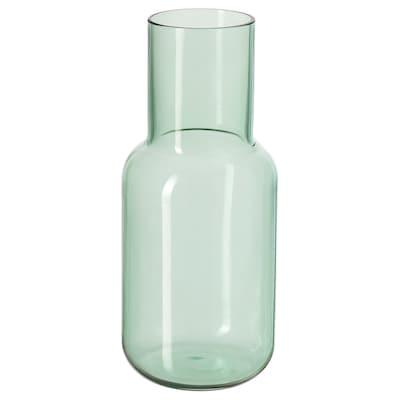 FÖRENLIG Vase, green, 21 cm