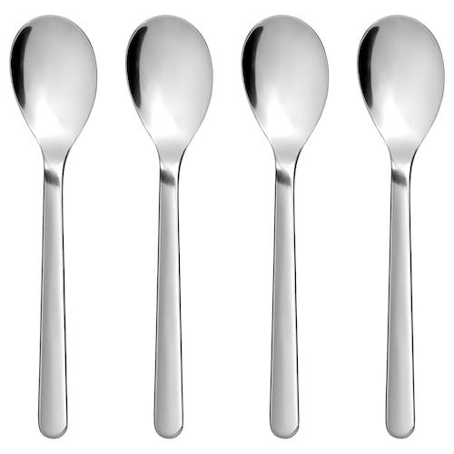 FÖRNUFT teaspoon stainless steel 14 cm 4 pieces