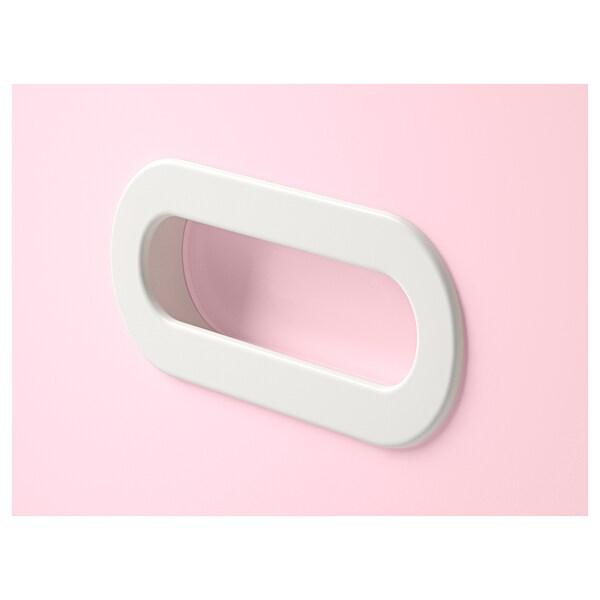 FRITIDS Drawer front, light pink, 60x64 cm