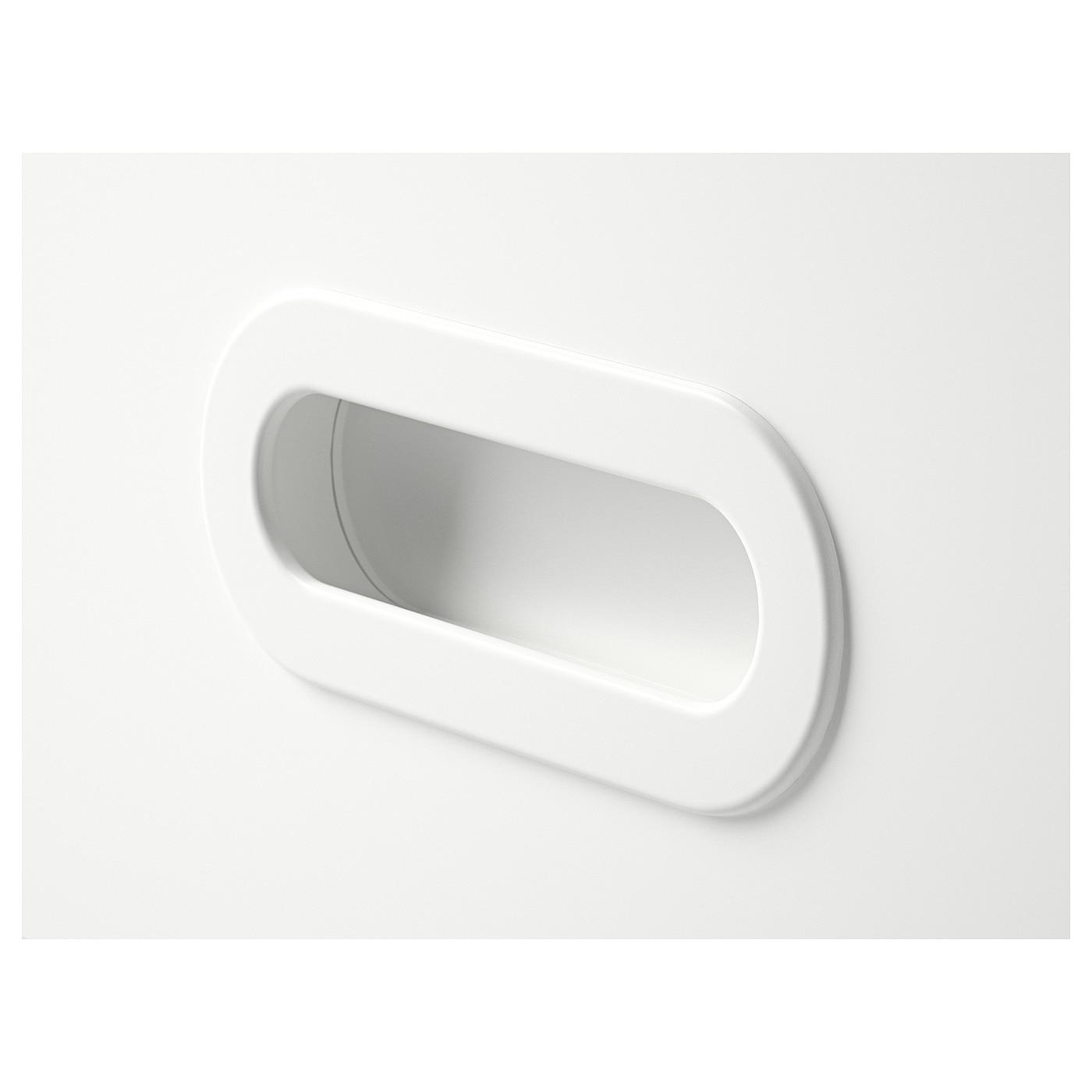 FRITIDS Drawer front, white, 60x64 cm