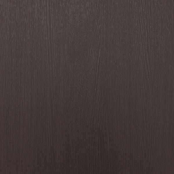 GODMORGON Wall cabinet with 1 door, black-brown, 40x14x96 cm