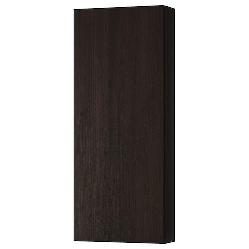 GODMORGON wall cabinet with 1 door black-brown 40 cm 14 cm 96 cm