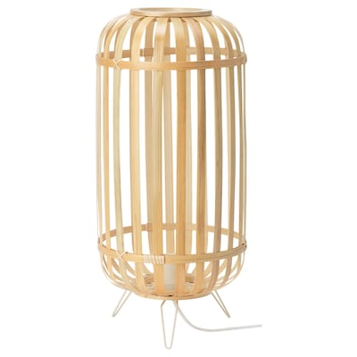 GOTTORP Table lamp, bamboo, 24x51 cm