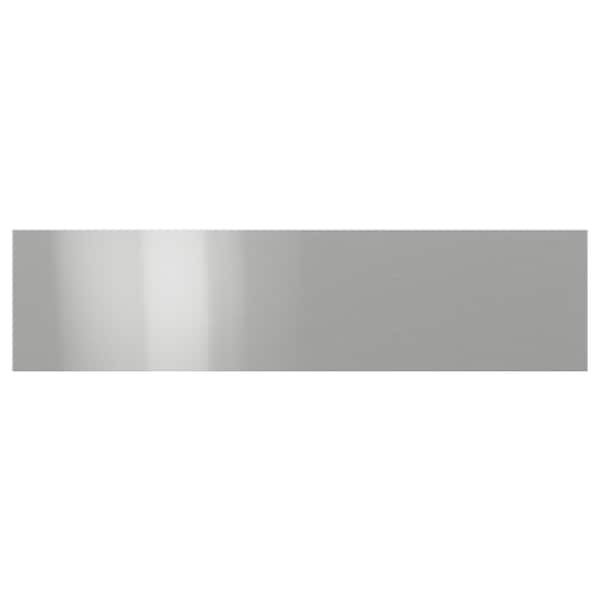 GREVSTA Drawer front, stainless steel, 80x20 cm