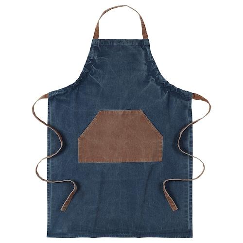 GRILLTIDER apron blue/brown