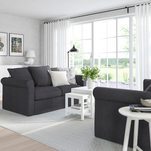 GRÖNLID 2-seat sofa, Sporda dark grey