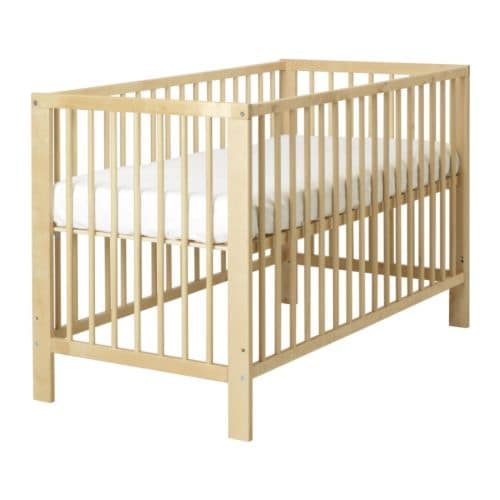 GULLIVER Cot   The bed base can be placed at two different heights.