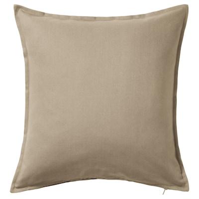 GURLI Cushion cover, beige, 50x50 cm