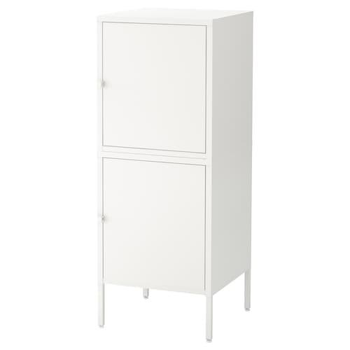 HÄLLAN storage combination with doors white 45 cm 47 cm 117 cm