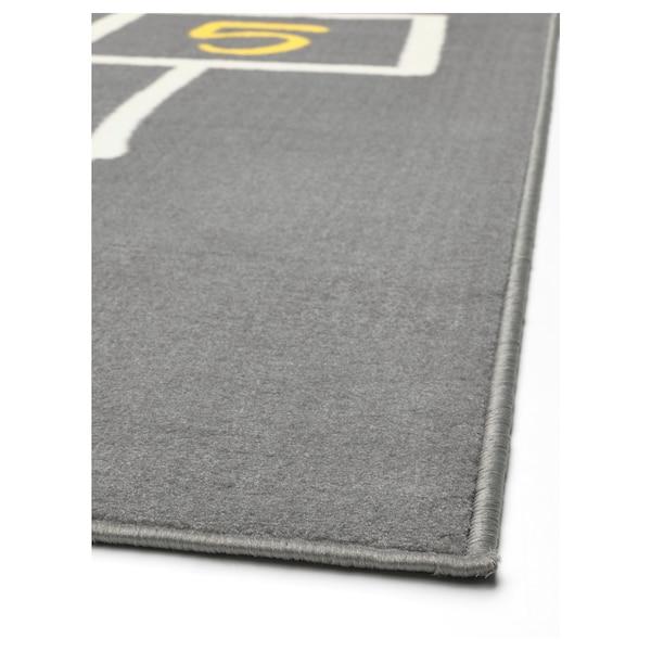 HEMMAHOS Play mat, grey, 100x160 cm
