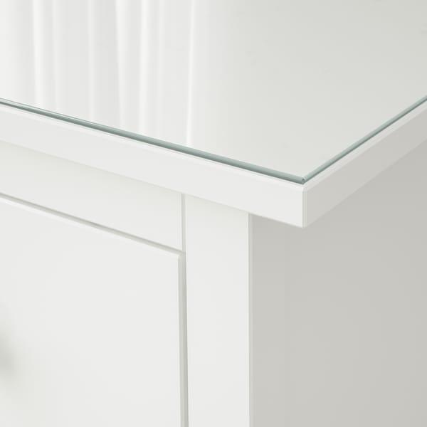 HEMNES Glass top, transparent, 159x50 cm
