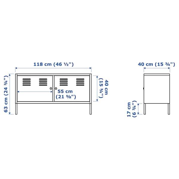 IKEA PS Cabinet, white, 119x63 cm