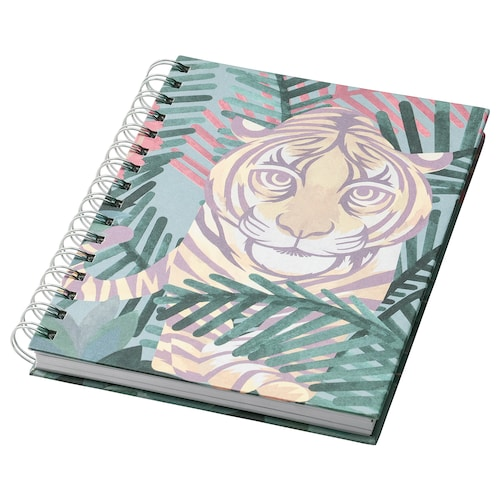 ILLBATTING note-book multicolour/tiger 100 pieces 21 cm 16 cm 2 cm 80 g/m²