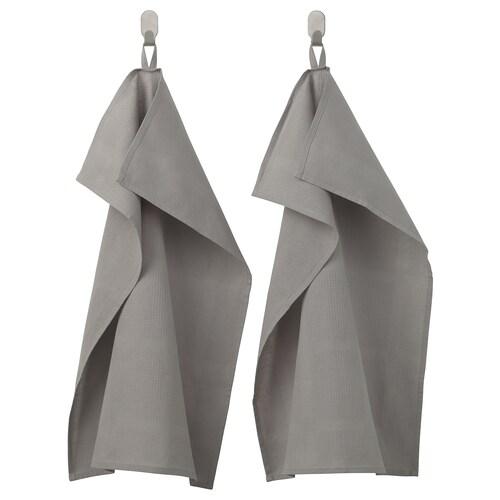 IRIS tea towel grey 70 cm 50 cm 2 pieces