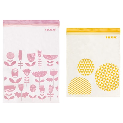 ISTAD Resealable bag, assorted sizes/assorted colours