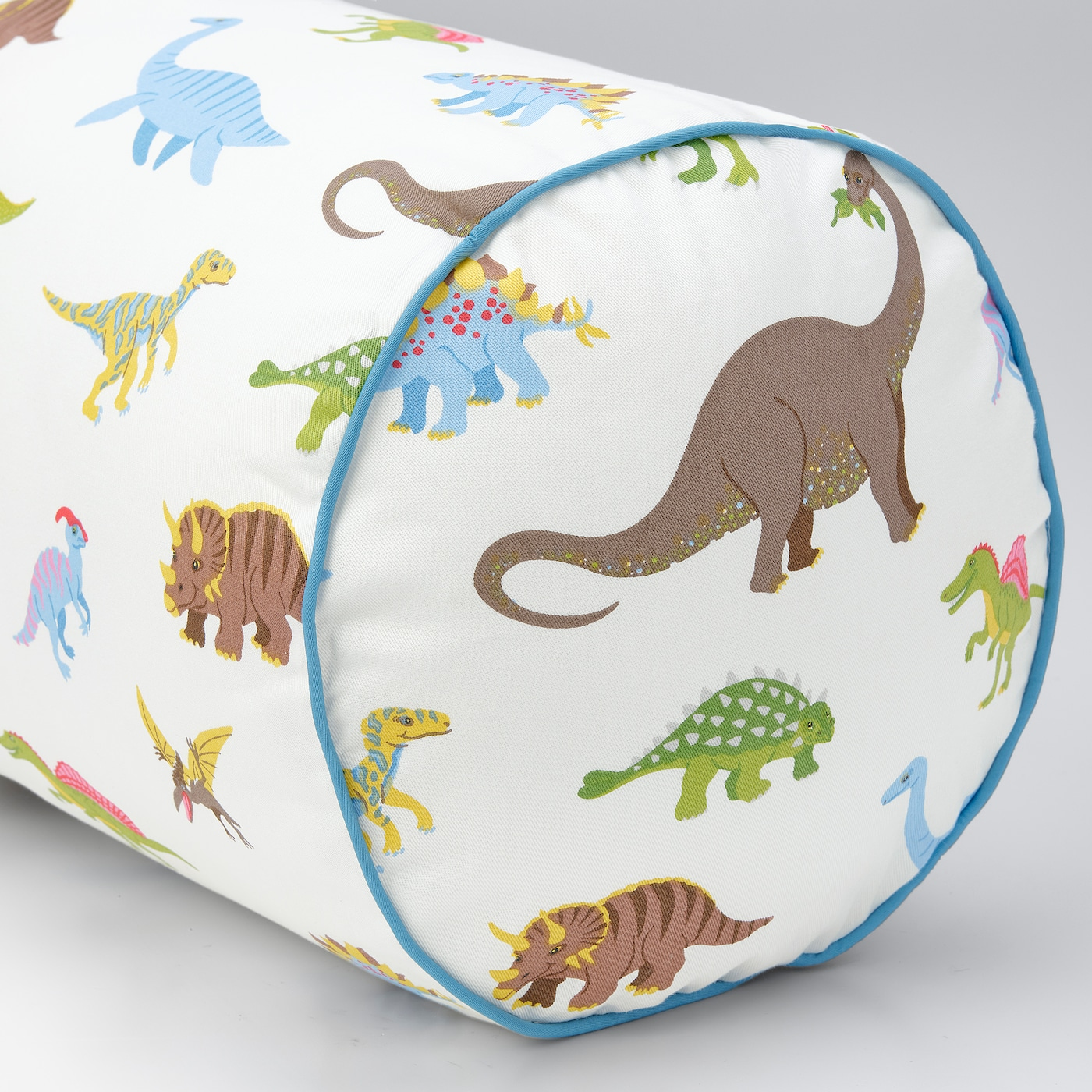JÄTTELIK Cushion, dinosaur/multicolour, 80 cm