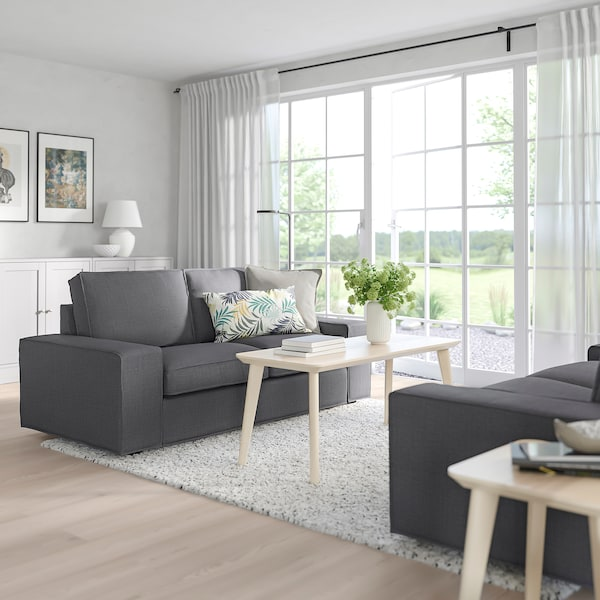 KIVIK 2-seat sofa, Skiftebo dark grey