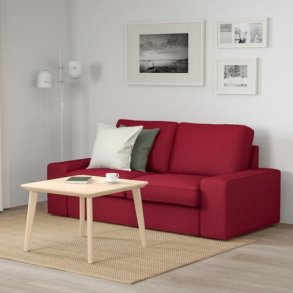 KIVIK Two-seat sofa, Orrsta red