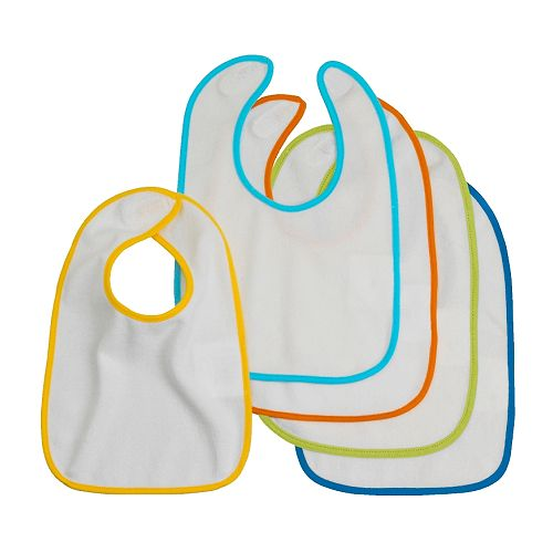 KLADD Baby-bib   Easy to put on and take off thanks to the touch and close fastener.
