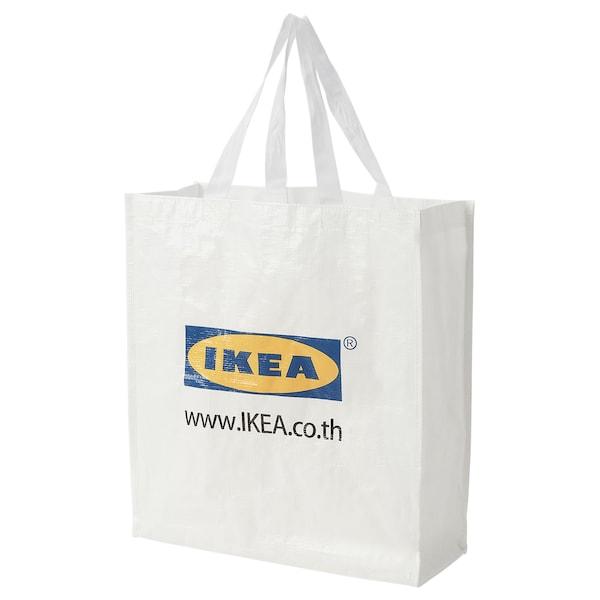 KLAMBY Bag, white, 38x15x42 cm