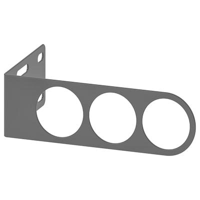 KOMPLEMENT Valet hanger, dark grey, 17x5 cm