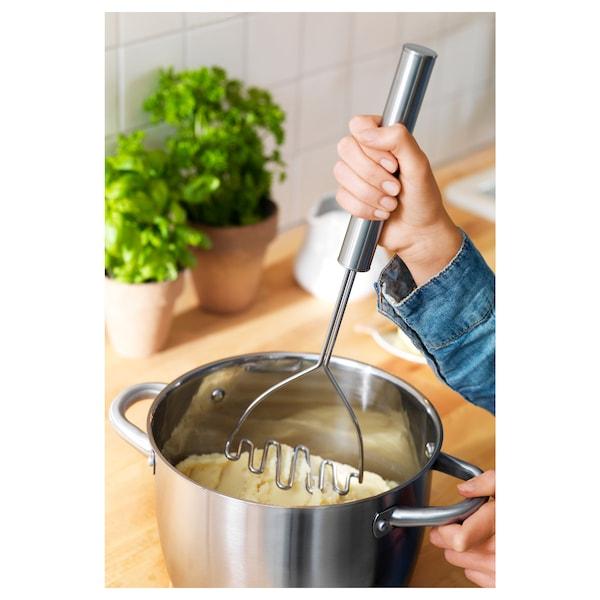 KONCIS Potato masher, stainless steel