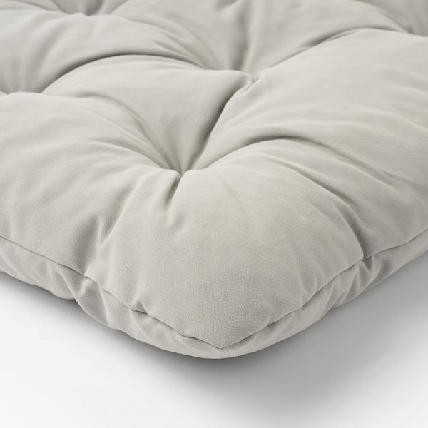 KUDDARNA Back cushion, outdoor, grey, 62x44 cm